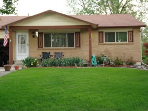 This is a picture of our house in Westminster Colorado.