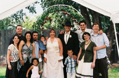 "Serena, Rick, Christina, Sebastion ""Sonny"", Mya, Sebastion Jr, Sherry, Richard, Sigmond ""Ziggy"", Corey, Stacey & Matt.  Serena & Rick just got married on July 12th, 2008, Sigmond ""Ziggy"" (now 8) is her son from a previous marriage.They live in Downers Grove, Illinois."