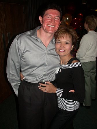 Dave Bowen & Sandi Zavalla at the 2003 reunion at Willow Creek