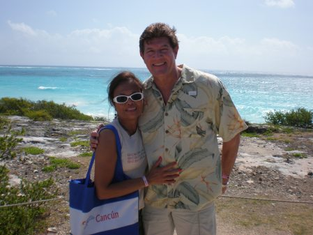 Sandi & Dave on their honeymoon last April